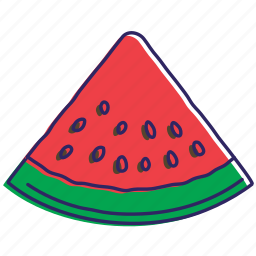 cold watermelon, fresh, fresh fruit, fruit, fruits, healthy food, watermelon icon
