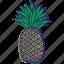 fruit, fruits, healthy food, pinapple, pinapples icon