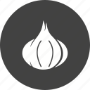 food, fresh, garlic, healthy, organic, spice, vegetable icon