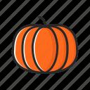 fresh, fruits, halloween, pumpkin, vegetables