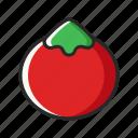 fresh, fruits, red, tomato, vegetables