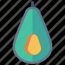 avocado, food, fruit, healthy, vitamins icon