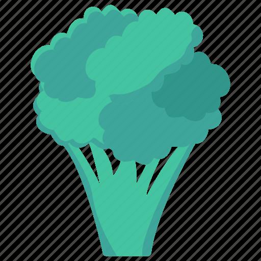 broccoli, food, healthy, vegetable, vegetarian icon