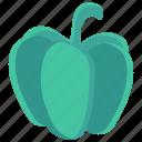 capsicum, food, salad, vegetable, vegetarian icon