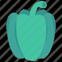 capsicum, eat, food, vegetable, vegetarian icon