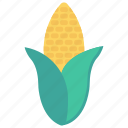 cob, corn, crop, food, vegetable icon
