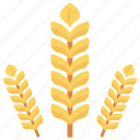 crop, food, grain, plant, wheat icon