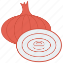 eat, food, onion, salad, vegetable icon