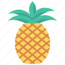 food, fruit, healthy, pineapple, vitamins icon