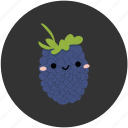 berry, blackberry, clean food, fruit, ingredient, sweet, vegetarian icon