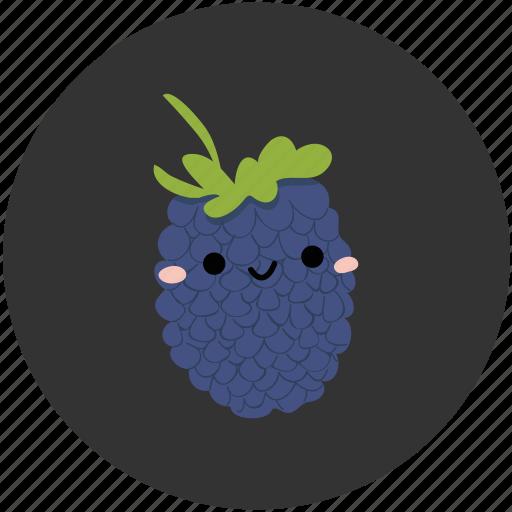 berry, blackberry, clean food, fruit, ingredient, sweet, vegetarian icon