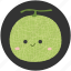 clean food, dessert, food, fruit, melon, sweet icon