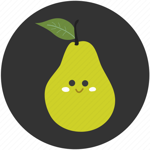 clean food, food, fruit, ingredient, pear, sweet icon
