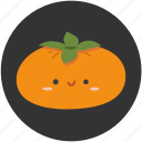 fruit, kaki, persimmon, plub, plum, sweet, tropical fruit icon