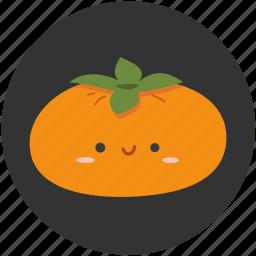 fruit, kaki, persimmon, plub, plum, sweet, tropical fruit icon