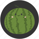 dessert, fruit, sweet, tropical fruit, water melon, watermelon icon