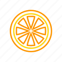citrus, coloredbeans, drink, food, fruit, juice, orange icon