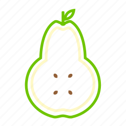 coloredbeans, drink, food, fruit, green, pear, sweet icon