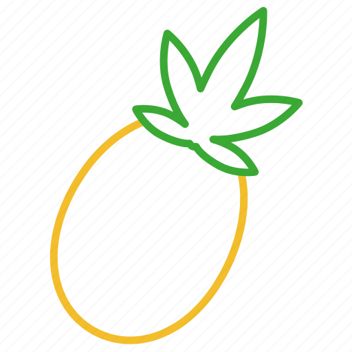 ananas, coloredbeans, drink, food, fruit, kitchen, pineapple, sweet, tropical icon