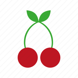cherry, food, fruit, kitchen, nature, sweet icon