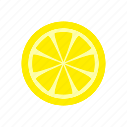 food, fruit, kitchen, lemon, sour icon