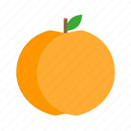 cooking, food, fruit, kitchen, nature, peach, sweet icon