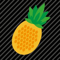 food, fruit, kitchen, nature, pineapple icon