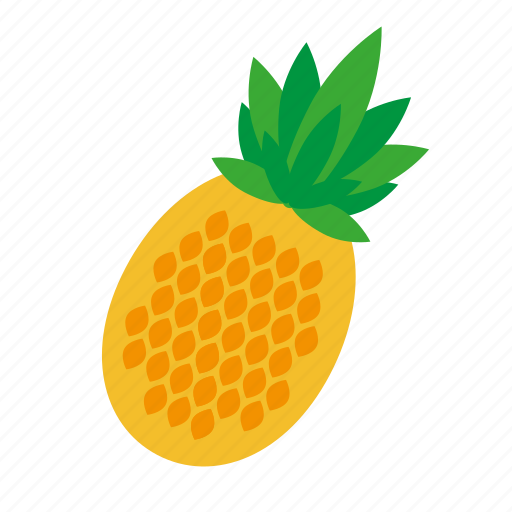 Pineapple, fruit, food, nature, kitchen icon - Download on Iconfinder
