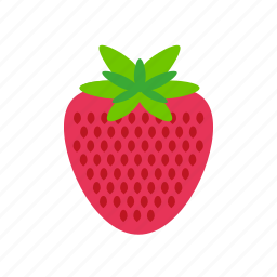 berry, food, fruit, kitchen, strawberry, sweet icon