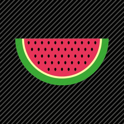 food, fruit, kitchen, melon, nature, water, watermelon icon