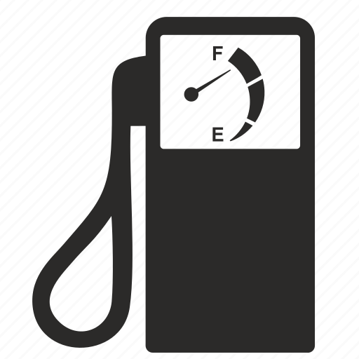 fuel, gas, sensor, station icon