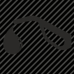 drop, fuel, pistol, station icon