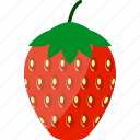 cultivated, flat, food, fresh, fruit, garden, strawberry