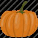 autumn, decoration, fall, flat, food, pumpkin, vegetable