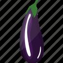 eggplant, flat, food, green, healthy, organic, plant