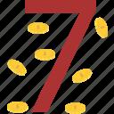 casino, gamble, prize, win icon