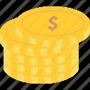 casino, coins, fee, fees, gamble, money icon