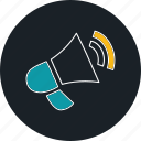 business, loud, marketing, megaphone icon