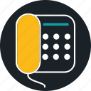 business, call, landline, phone icon