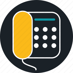 business, call, landline, phone icon