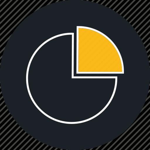 chart, pie, pie chart, tatistics icon