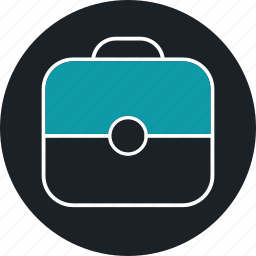 business, meeting, suitcase, work, workday icon