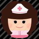 char, female, girl, medic, nurse, woman, heatlh