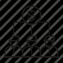 crowdfunding, investor, people, shareholder, venture icon