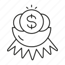 dollar, fund, money, nest, value icon
