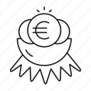 euro, fund, money, nest, value icon