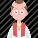 priest, christian, prayer, religious, church