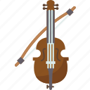 violin, music, instrument, string, classical