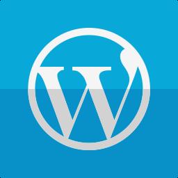 site, wordpress icon
