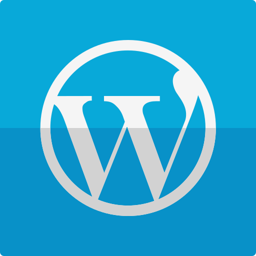 site, wordpress icon